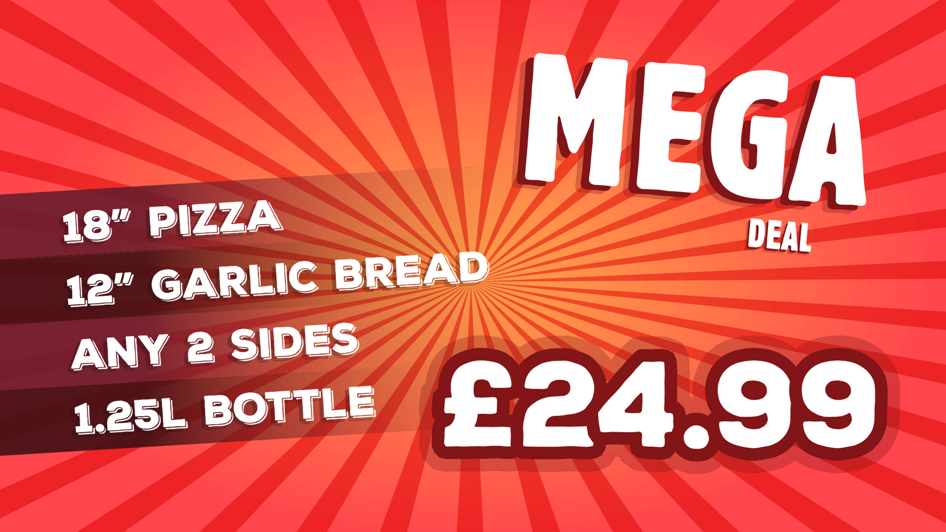 Regency Pizza Mega Deal